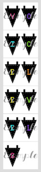 Neon & Black Voice Levels with Bunting