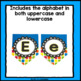 Neon Bright Classroom Banner: With Letters A-Z Uppercase & Lowercase