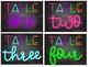 Neon/Bright and Chalkboard Classroom Decor