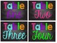 Neon/Bright and Chalkboard Classroom Decor