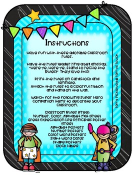Neon Brights Classroom Rules