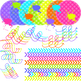 Neon Brights Clipart Pack
