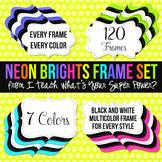 Neon Brights Digital Frames