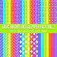 Neon Brights Mega Digital Paper Pack Volume 2