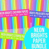 Neon Brights Paper Pack Bundle