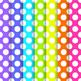 Neon Brights Polka Dot Paper Pack