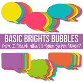 Basic Brights Speech Bubble Pack