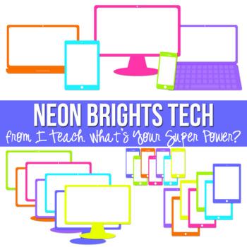 Neon Brights Tech Set
