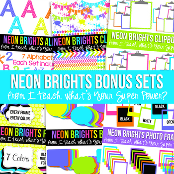 Neon Brights Ultimate Bundle Set