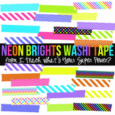 Neon Brights Washi Tape Pack