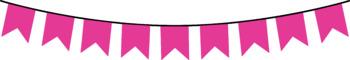 Neon Bunting Clip Art FREEBIE!!!!