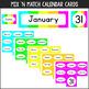 Neon Calendar Set & Weather Station