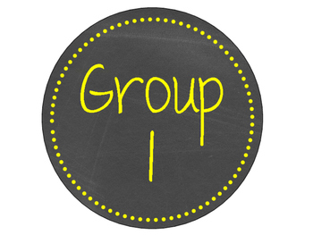 Neon Chalkboard Table/Group Sign