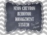 Neon Chevron Classroom Clip Chart