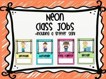 Neon Class Jobs