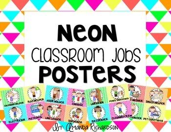 Neon Classroom Jobs