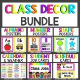 Neon Classroom Decor MEGA Bundle   Bright Classroom Theme