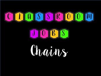Neon Classroom Job Chains