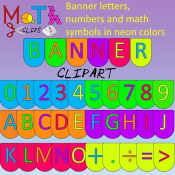 Neon Color Banner