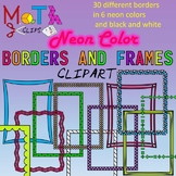 Neon Color Borders and Frames