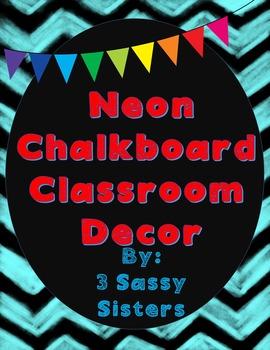 Neon Complete Classroom Decor Set