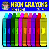 Back to School Crayons - Neon
