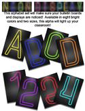 Neon Display Alphabet Bundle