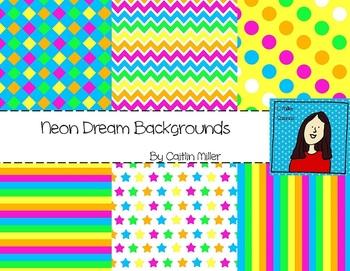 Neon Dream Backgrounds