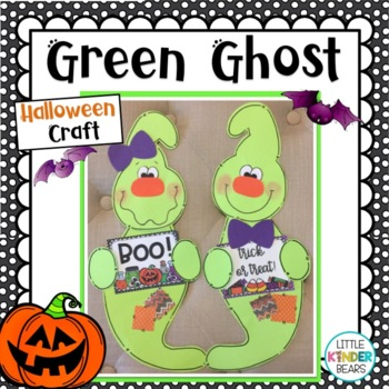 Neon Green Ghost: Halloween Crafts: October Crafts