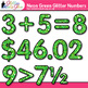Neon Green Math Numbers Clip Art {Great for Classroom Decor & Resources}