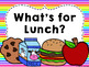 Neon Lunch Count Display {editable!}