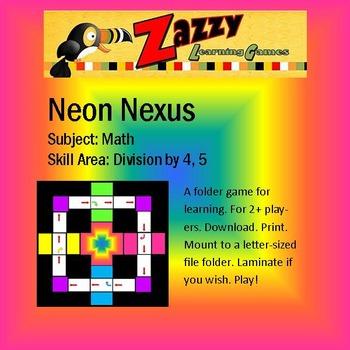 Neon Nexus Folder Game Division 4, 5
