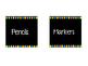 Neon Polkadot Classroom Labels
