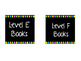 Neon Polkadot Library Book Labels