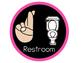 Neon RAINBOW Hand Signals Signs