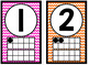 Neon Rainbow Number Posters 1-20