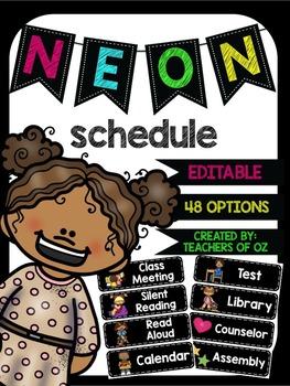 Neon Schedule