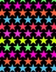Neon Star Digital Papers and Frames for Work Books, Cover