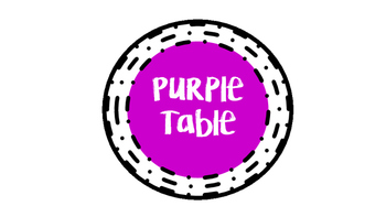 Neon Table Labels
