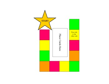 Neon Trail Sight Word Game