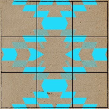 Neon Tribal Sudoku Squares