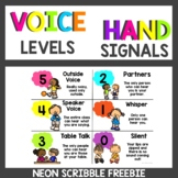 Neon Voice Level Chart FREEBIE