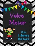 Neon Voice Meter