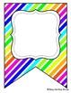 Editable Banners Neon & White, Bright