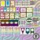 Classroom Theme Decor / Organization - Mega Bundle (Editable!) - Neon Zebra