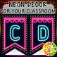 Neon and Marquee Lights Decor for your Classroom