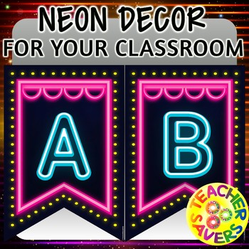 Neon And Marquee Lights Decor For Your Classroom By Teachersavers