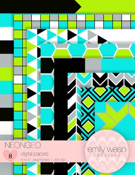 NeonGeo Digital Papers