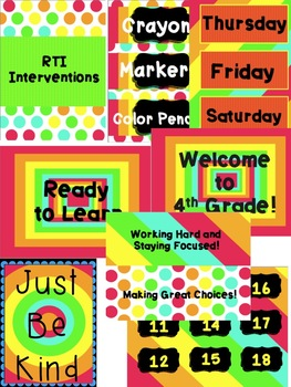 Neons for Your Classroom (set 2)