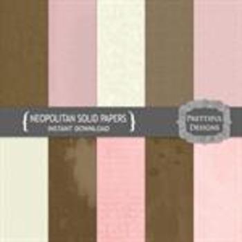 Neopolitan Solid Papers